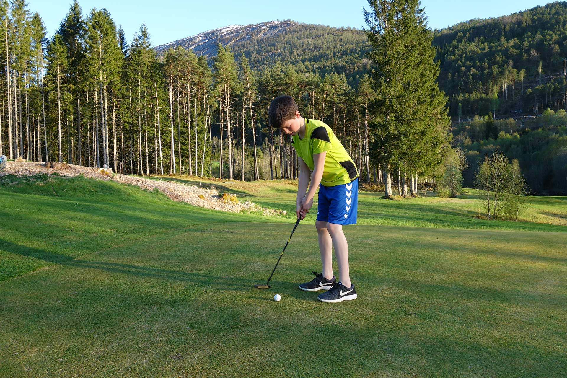 Veien til golf